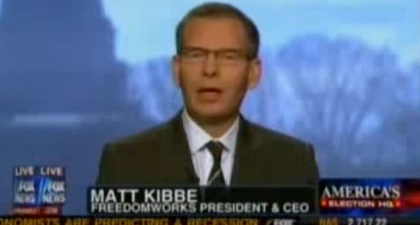 Matt Kibbe _ media coverage